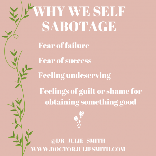 Why we self-sabotage